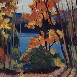 Autumn Landscape - Jack Hamilton Bush