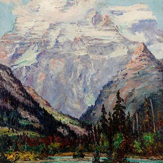 Mount Robson - George Horne Russell