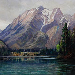 The Athabasca Valley - George Horne Russell