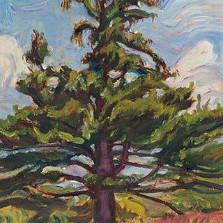 Old White Pine, Madoc, Ontario - Alexander Young (A.Y.) Jackson