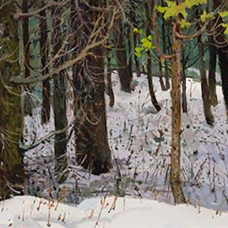 Woods at Windermere - George Franklin Arbuckle