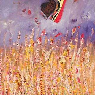 Wild Grass Series - Golden Grass - Jack Leonard Shadbolt