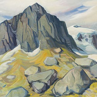 Ice Fields, Banff-Jasper Highway - Henry George Glyde