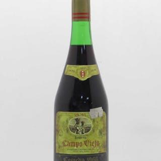 Rioja DOCa Campo Viejo Reserva 1966
