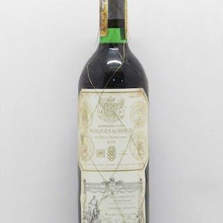 Rioja DOCa Reserva Marqués de Riscal 1975