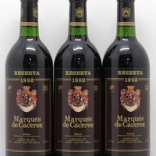 Rioja DOCa Reserva Marquès de Caceres 1992