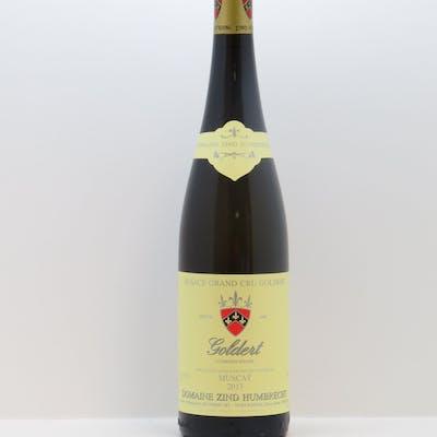 Muscat Goldert Zind-Humbrecht (Domaine) 2013