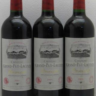 Château Grand Puy Lacoste 5ème Grand Cru Classé 2001