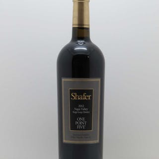 Stags Leap District Shafer Vineyards One Point Five 2012