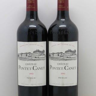Château Pontet Canet 5ème Grand Cru Classé 2012