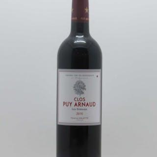 Clos Puy Arnaud - Cuvée Les Ormeaux 2015