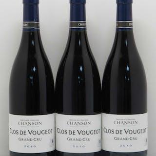 Clos de Vougeot Grand Cru Chanson 2010