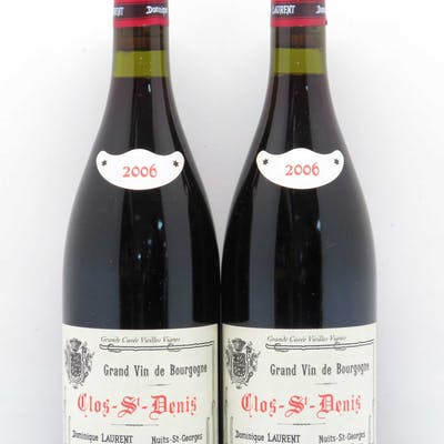 Clos Saint-Denis Grand Cru Dominique Laurent Vieilles Vignes 2006