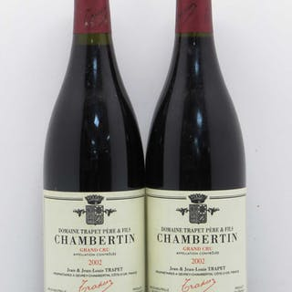 Chambertin Grand Cru Jean et Jean-Louis Trapet 2002