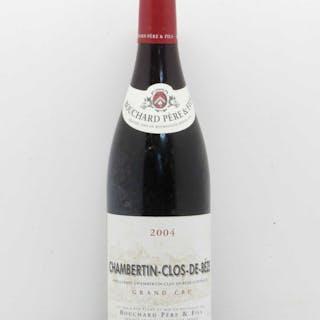 Chambertin Clos de Bèze Grand Cru Clos de Bèze Bouchard Père & Fils 2004