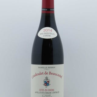 Côtes du Rhône Coudoulet de Beaucastel Jean-Pierre et François Perrin 2014