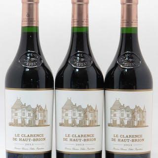 Château Clarence (Bahans) de Haut-Brion Second Vin 2013