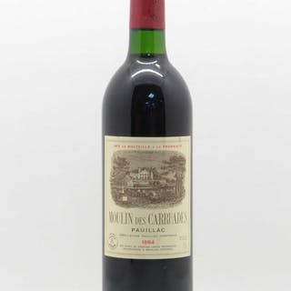 Moulin des Carruades Second vin 1984