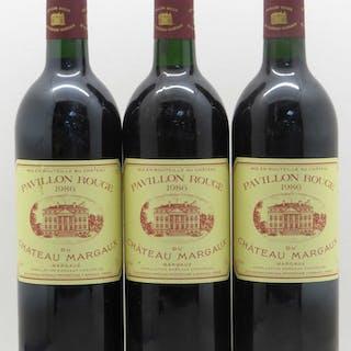 Pavillon Rouge du Château Margaux Second Vin 1986