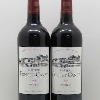 Château Pontet Canet 5ème Grand Cru Classé 2005