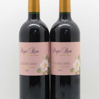 Coteaux du Languedoc Domaine Peyre-Rose Clos des Cistes Marlène Soria 2005
