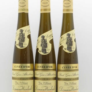 Pinot Gris (Tokay) Quintessence de Grains Nobles Clos des Capucins