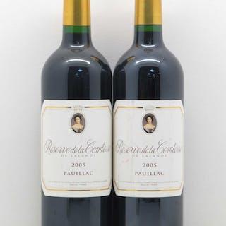 Réserve de la Comtesse Second Vin 2005
