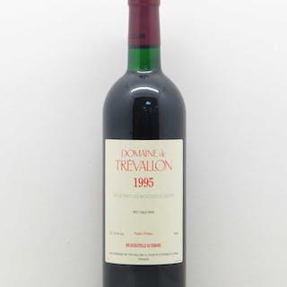 Bouches du Rhône Trévallon (Domaine de) Eloi Dürrbach 1995