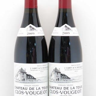 Clos de Vougeot Grand Cru Vieilles Vignes Château La Tour Domaine Labet 2009