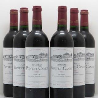 Château Pontet Canet 5ème Grand Cru Classé 2003