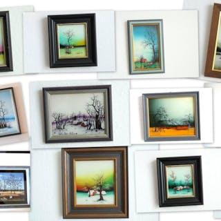 Hinterglasbilder kroatischer Maler