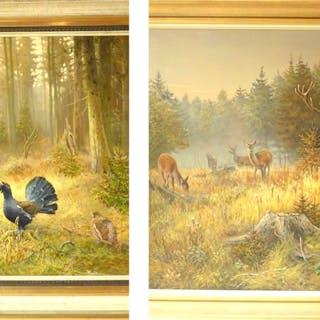 2 Gemälde von Bernd Pöppelmann