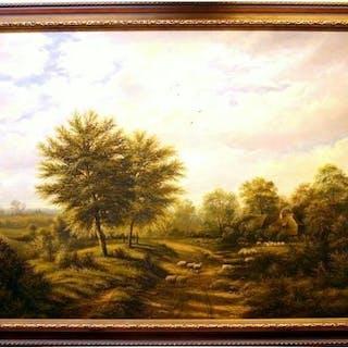 """""""Schafe"""" - ausgewählte (Landschafts)Gemälde"""