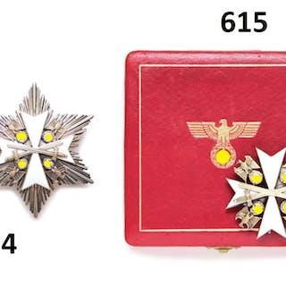 Deutscher Adler-Orden - Bruststern 2.Klasse mit Schwertern
