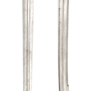 Jagdschwert mit Elfenbeingriff, deutsch um 1700