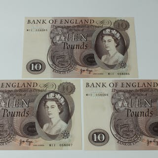 BRITISH BANKNOTES - Bank of England Ten Pounds