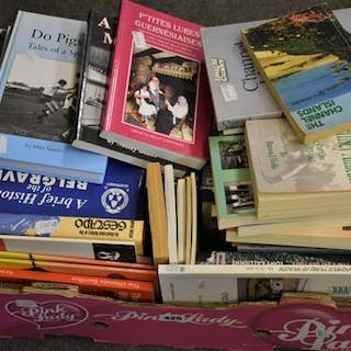A large collection of Channel Island interest books (qty)