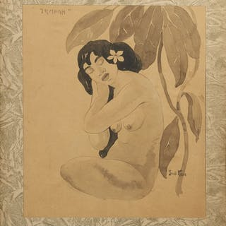 Akvarell, Svante Kede (1877-1955)
