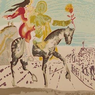Färglitografi, Salvador Dalí (1904-1989)