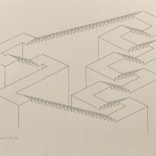 Teckning, Oscar Reutersvärd (1915-2002)