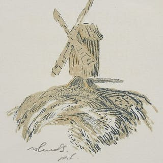 Färglitografi, Roland Svensson (1910-2003)