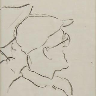 Teckning, Lennart Jirlow (f. 1936)