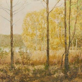 Oljemålning, Robert Högfeldt (1894-1986)