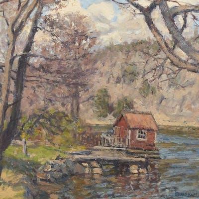 Oljemålning, Evald Kallstenius (1898-1957)