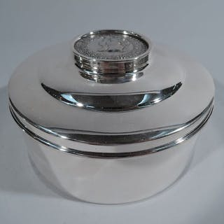 Sale Price: Charming sterling silver box