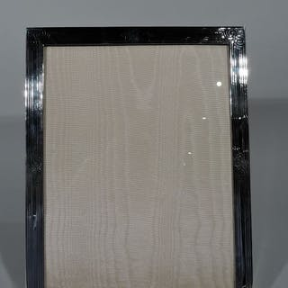 Sale Price Art Deco Sterling Silver Picture Frame Current Sales