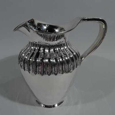 Sale Price: Victorian Classical sterling silver water pitcher