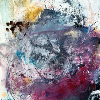 Abstract Painting - I'm Gonna Change Your Mind - Michel Keck