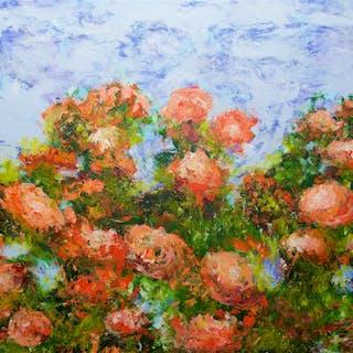 Red Ribbon Roses - Allan P Friedlander