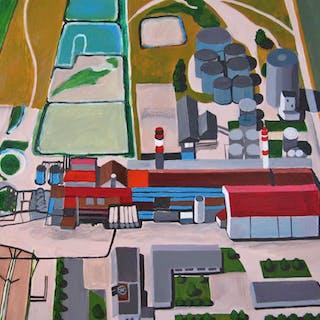 Sugar Factory in Champagne - Toni Silber-Delerive